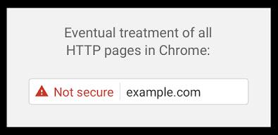 pagina-no-segura-google